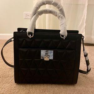 Michael Kors Vivianne large satchel black